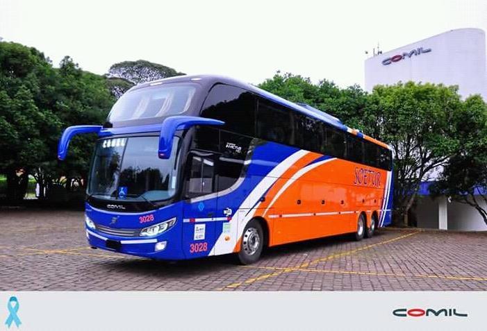 Ônibus Leito Turismo Soetur turismo