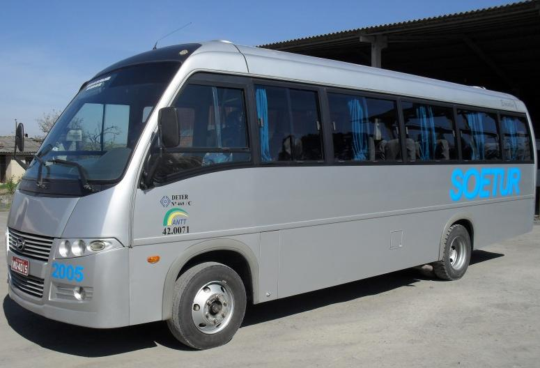 Micro-ônibus Soetur turismo